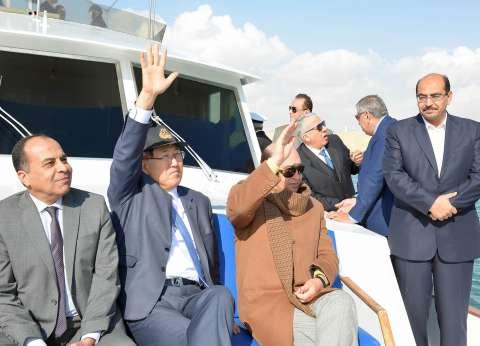 مميش يستقبل سكرتير عام المنظمة البحرية الدولية IMO ويمنحه درع القناة