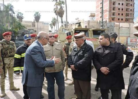 بالصور| هدوء بميدان الثورة في البحيرة.. ومدير الأمن يتفقد خدمات الميادين