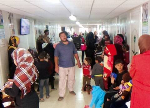 """السعودية تعالج الاجئين السوريين في مخيم """"الزعتري"""" خلال عيد الأضحى"""
