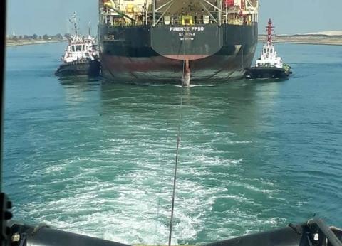 """الفريق مميش: عبور سفينة تكرير البترول العملاقة """"FIRENZE FPSO"""""""