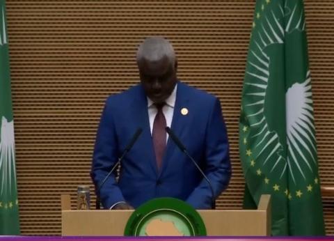 رئيس «الاتحاد الإفريقي»: يجب معالجة ظاهرة «النزوح القسري» جذريا