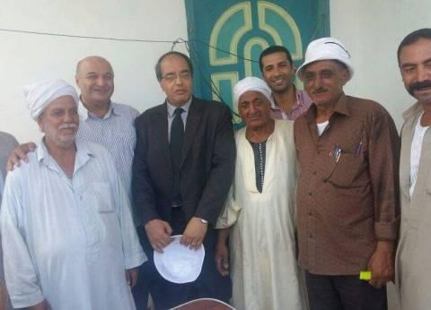 تسليم الأرض المخصصة لبناء الوحدة الصحية بالجبايلة في كفر الشيخ