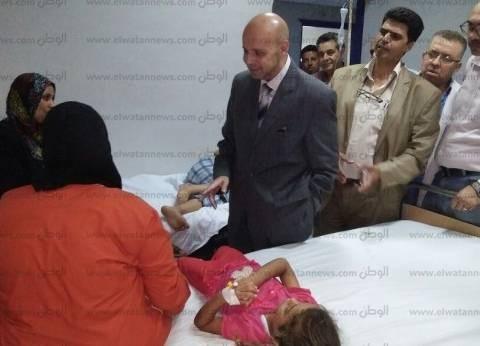 """""""صحة الشرقية"""": استقرار حالة المصابين بنزلة معوية في ديرب نجم"""