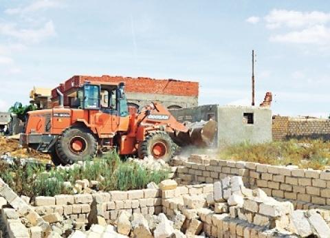 محافظ المنيا: إزالة 2733 حالة تعدٍّ على أراضى الدولة خلال أسبوع