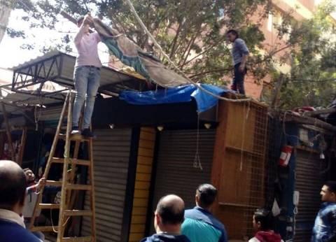 تحرير 20 محضر إشغال ونظافة بمركز دشنا