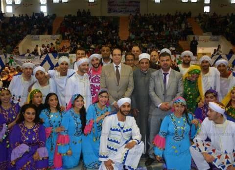 بالصور| تكريم 100 طفل في الاحتفال بيوم اليتيم بالدقهلية