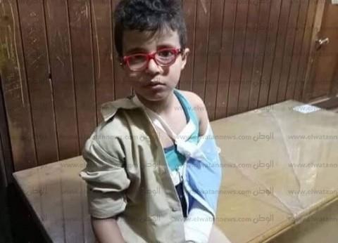 إصابة تلميذ بكسر ذراعه بسبب سقوطه من نافذة الفصل في الدقهلية