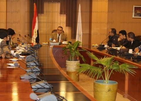 محمد القناوي يبحث الترتيبات النهائية لعقد ملتقى مجالس اتحاد طلاب مصر