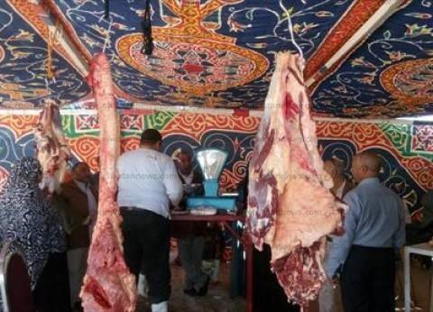بالصور| افتتاح مشروع بيع اللحوم الطازجة في رأس سدر بسعر 65 جنيها للكيلو