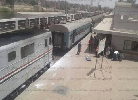 عاجل| انقلاب قطار في البدرشين بالجيزة
