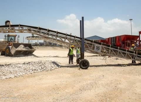 رصيد القمح في مخازن القطاع الخاص بميناء دمياط 73 ألف و154 طنا