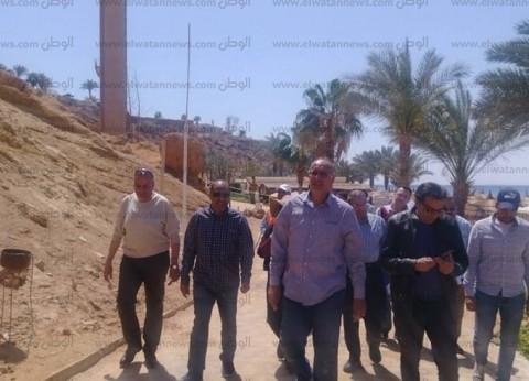 بالصور  وفد بنك الاستثمار يتابع مشروعات جهاز تعمير جنوب سيناء