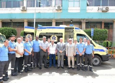 بالصور  5 سيارات إسعاف جديدة تدخل الخدمة في الشرقية