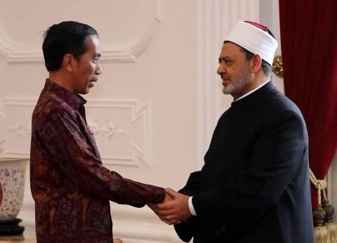 بالصور  الرئيس الإندونيسي يستقبل شيخ الأزهر في جاكرتا