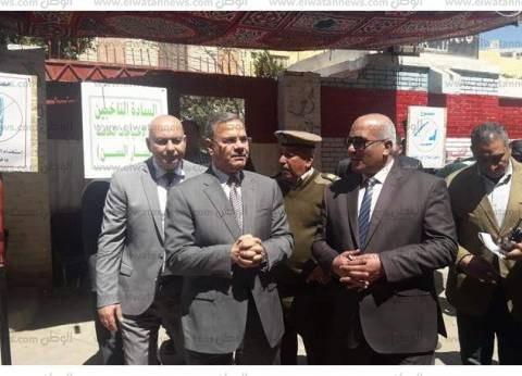 مساعد وزير الداخلية لغرب الدلتا يتفقد لجان دمنهور