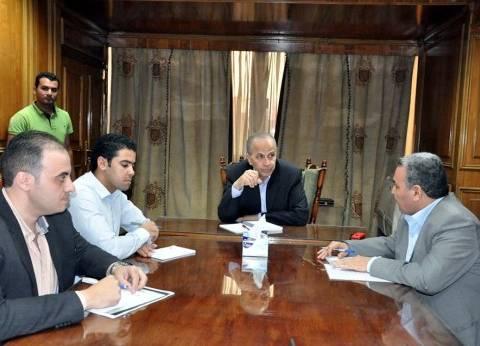 """محافظ القليوبية: """"شارع مصر"""" تحارب البطالة بين الشباب"""
