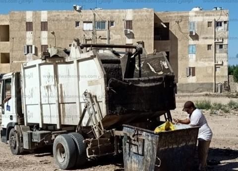 صور.. 30 طن مخلفات مدينة طور سيناء في أول وثاني أيام العيد