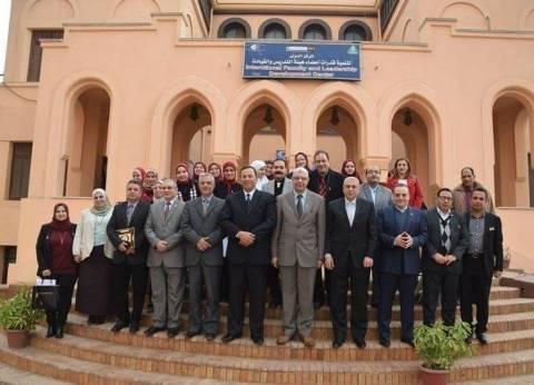 رئيس جامعة المنوفية يشارك باحتفال مركز تنمية قدرات أعضاء هيئة التدريس