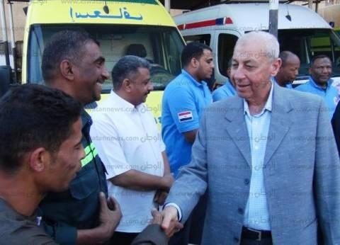 مدير إسعاف أسوان: شكر المحافظ لنا وسام على صدورنا