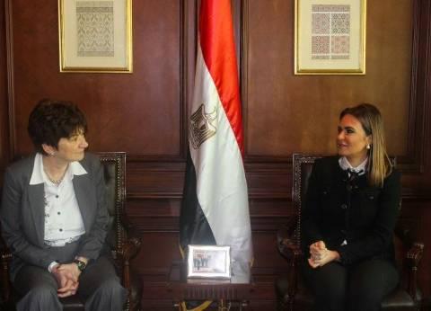 سحر نصر: القيادة السياسية مهتمة بتنمية المناطق المتضرره من الألغام فى سيناء والعلمين
