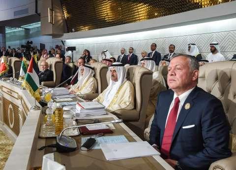"""العاهل الأردني يدعو العرب لاستعادة """"البوصلة"""" نحو الأمن والازدهار"""