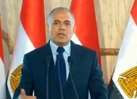 وزير الري: تخصيص 220 مليون جنيه لأعمال حماية مجرى النيل بطول 110 كم