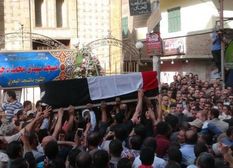 قيادات «الداخلية» يشيعون شهداء «حلوان» فى جنازة عسكرية بأكاديمية الشرطة