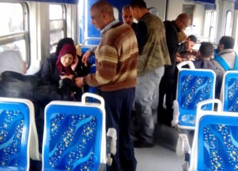 ضبط 659 قضية في مكافحة الظواهر السلبية بالمترو والقطارات