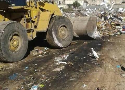إزالة 500 مخالفة إشغال طريق ورفع 600 طن قمامة في حملة بالبحيرة