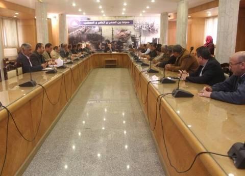 رئيس اتحاد المقاولين العرب يلتقي رئيس الهيئة العامة للمنطقة الاقتصادية