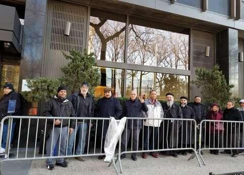 بالصور| مندوب حملة السيسي في نيويورك: إقبال كثيف من المصريين منذ بدء التصويت