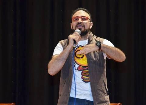 أحمد يونس يجمع تبرعات لمرضى quotالجزامquot ويوزع 4 آلاف وجبة إفطار