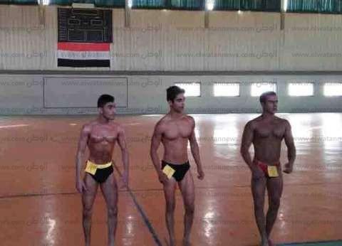 جامعة المنصورة تنظم بطولة كمال الأجسام للكليات بالقرية الأولمبية