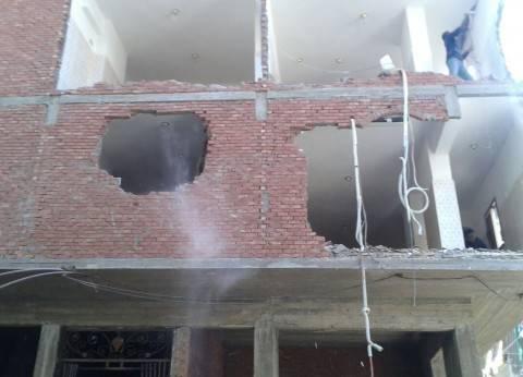 استمرار حملات إزالة التعديات بحي المنتزه في الإسكندرية