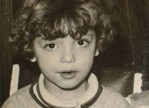 ريهام عبد الغفور تسترجع ذكرياتها بصورة من أيام الطفولة