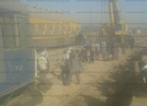 محافظ كفر الشيخ: ندب لجنة لمعرفة أسباب خروج القطار عن القضبان