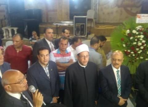 """محافظ الغربية يشارك في احتفالية إفطار جماعي لـ""""بيت العائلة"""" بالمحلة"""