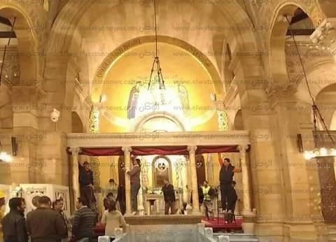 """راعي """"البطرسية"""": انتهاء أعمال ترميم الكنيسة.. وإقامة أول صلاة بها اليوم"""