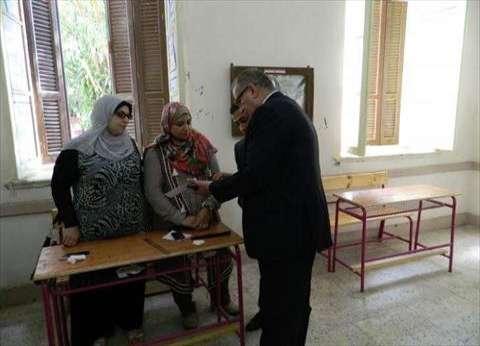 بالصور| رئيس انتخابات أسيوط يتفقد الجولة الأولى من الإعادة
