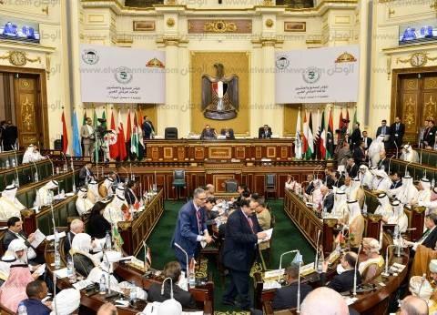 """رؤساء البرلمانات العربية لـ""""السيسي"""": استكمل نجاحك.. ومصر وطنا الثاني"""