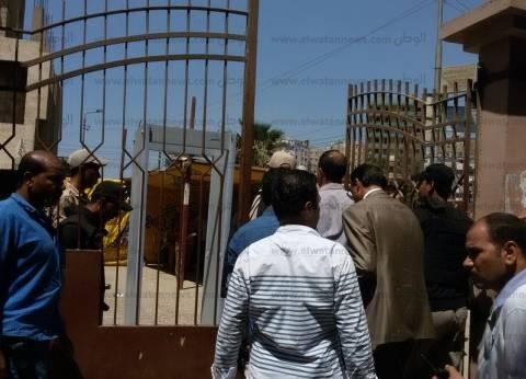 مدير أمن القليوبية يتفقد مقر تقديم أوراق مرشحي البرلمان بمحكمة بنها