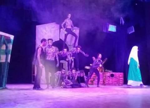 مسرحية حكاية سعيد الوزان على مسرح قصر ثقافة السويس