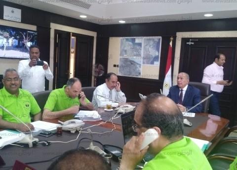 محافظ البحر الأحمر يترأس غرفة عمليات متابعة الاستفتاء