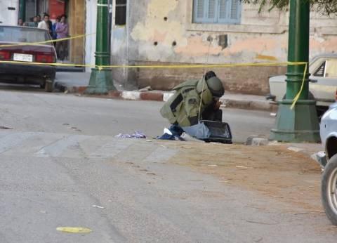 بالصور| حقيبة تثير الرعب أمام استراحة كبار الزوار بمحافظة أسيوط
