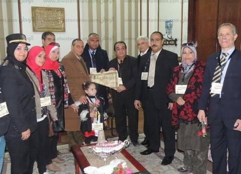 محافظ أسوان: رجال الشرطة قدموا التضحيات وحموا ثورة يناير