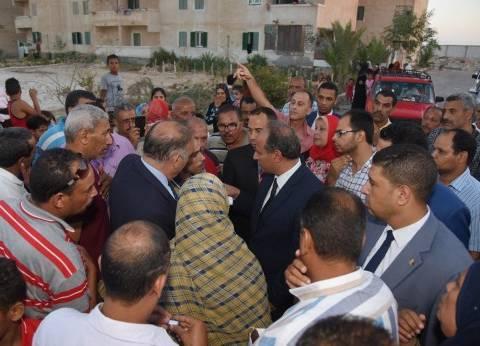 محافظ الإسكندرية يأمر بحصر المتعدين على الوحدات بالإسكان الاقتصادي