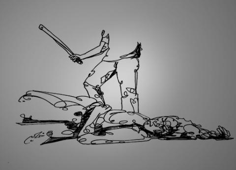 بنى سويف.. عاطل يذبح والده بسبب «الكيف»