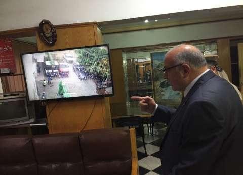"""مدير الأمن يفاجئ """"مرور القليوبية"""" وقت الإفطار"""