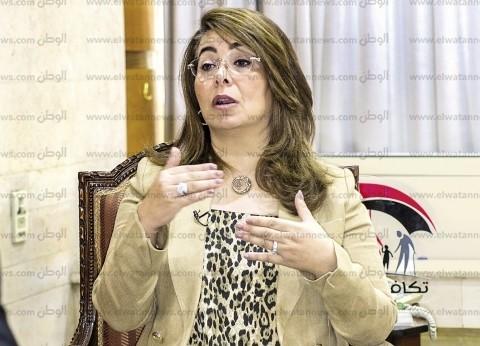 وزيرة التضامن تتوجه لمستشفى الشيخ زايد للاطمئنان على مصابي حادث المنيا