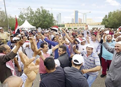 سفارة مصر في الكويت تبقي اللجان مفتوحة بعد التاسعة لاستيعاب الناخبين